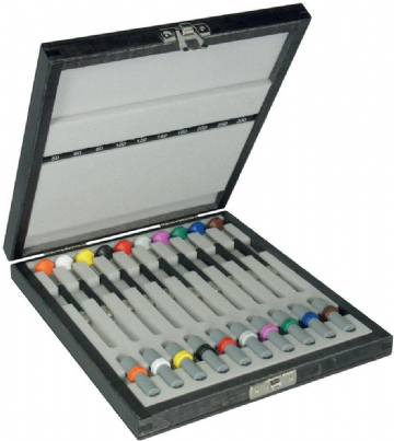 Coffret de 10 tournevis bergeon 6899-A10